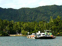 Daintree Ferry River Crossing