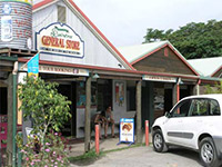 Closeup Image of the Shops at Daintree Village